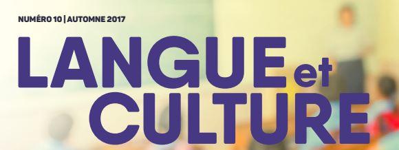 Bulletin Langue et culture : la rétroaction comme fil conducteur