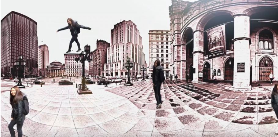 La réalité virtuelle en arts