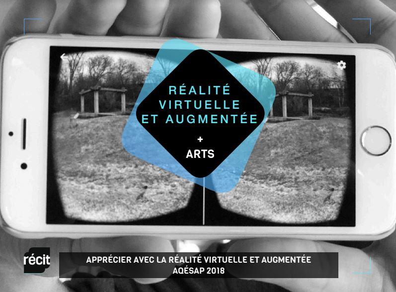 Créer et apprécier en arts plastiques grâce à la réalité virtuelle et augmentée